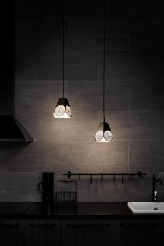 Bower Studio Ensemble of Notic Pendant Lamps by Bower Studio - 1348421