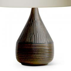 Brandi Keramik Textured Table Lamp by Henry Brandi - 1815310