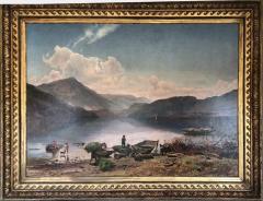 Branford Antiques Home Design Worthington T Whittredge 1820 1910 Landscape Painting - 743084
