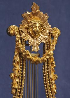 Breant a Paris c 1790 French Ormolu and Marble Swinging Lyre Clock - 1184085