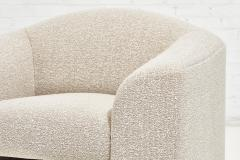 Brueton Brueton Lounge Chairs in White Boucle circa 1980 - 1948686