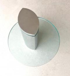 Brueton Brueton Mirror Polished Modernist Minimalist Side Drink Table - 1421329