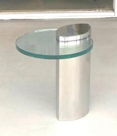 Brueton Brueton Mirror Polished Modernist Minimalist Side Drink Table - 1421340