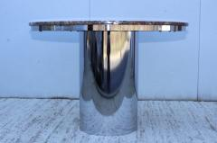 Brueton Brueton Stainless Steel And Marble Dining Table - 1310975