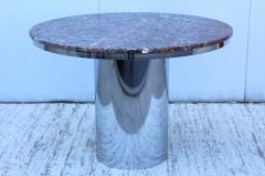 Brueton Brueton Stainless Steel And Marble Dining Table - 1310976