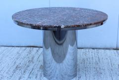 Brueton Brueton Stainless Steel And Marble Dining Table - 1310980