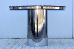 Brueton Brueton Stainless Steel And Marble Dining Table - 1310984