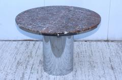 Brueton Brueton Stainless Steel And Marble Dining Table - 1310985