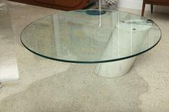 Brueton Marble and Glass Low Table - 392095