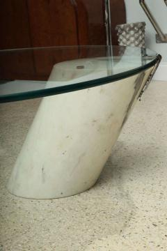 Brueton Marble and Glass Low Table - 392098