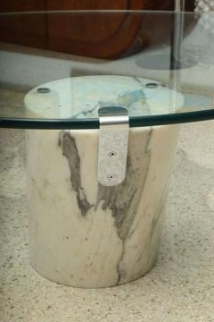 Brueton Marble and Glass Low Table - 392099