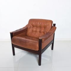 Bruksbo Torbj rn Afdal for Bruksbo Danish Leather Padded Arm Chair Lounge - 1436172