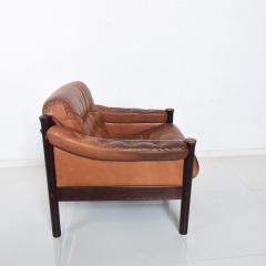 Bruksbo Torbj rn Afdal for Bruksbo Danish Leather Padded Arm Chair Lounge - 1436174