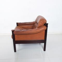 Bruksbo Torbj rn Afdal for Bruksbo Danish Leather Padded Arm Chair Lounge - 1436175