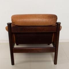 Bruksbo Torbj rn Afdal for Bruksbo Danish Leather Padded Arm Chair Lounge - 1436179