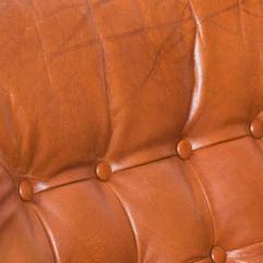 Bruksbo Torbj rn Afdal for Bruksbo Danish Leather Padded Arm Chair Lounge - 1436180