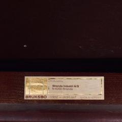 Bruksbo Torbj rn Afdal for Bruksbo Danish Leather Padded Arm Chair Lounge - 1436181
