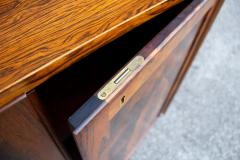Bruksbo Torbjorn Afdal Book Matched Brazilian Rosewood Cabinet for Bruksbo of Norway - 1345379