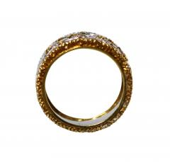 Buccellati 18 Karat Two Tone Gold and Diamond Ring by Buccellati Italy - 315214