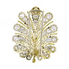 Buccellati Buccellati Diamond Leaf Brooch - 1159820