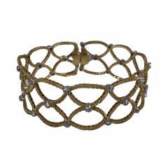 Buccellati Buccellati gold and diamond bracelet - 1191299