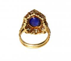Buccellati Gold Sapphire and Diamond Ring by Buccellati Italy circa 1950 - 303997