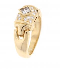 Bulgari Bulgari Square Diamond Ring - 430035