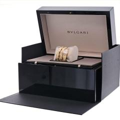 Bvlgari Bulgari BVLGARI 18K ROSE GOLD DIAMOND MOTHER OF PEARL YELLOW GOLD SERPENTI QUARTZ WATCH - 2110396