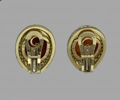 Bvlgari Bulgari Bulgari Ancient Carnilian Intaglio Earrings - 874654