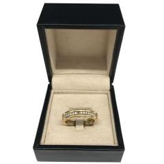 Bvlgari Bulgari Bulgari B Zero 1 Diamond Ring in 18KT Yellow Gold 0 6 CTW - 1284584