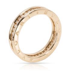 Bvlgari Bulgari Bulgari B Zero 1 Diamond Ring in 18KT Yellow Gold 0 6 CTW - 1285895