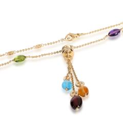 Bvlgari Bulgari Bulgari B zero1 Multi Colored Gemstone Necklace in 18K Yellow Gold - 1842226