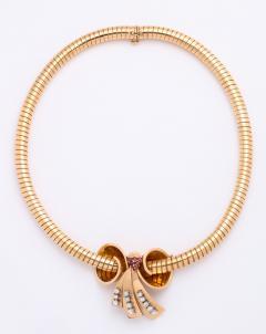 Bvlgari Bulgari Bulgari Bow Pendant Necklace - 1572161