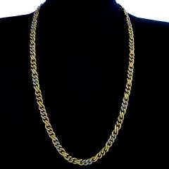 Bvlgari Bulgari Bulgari Diamond Accented Gold Chain - 1167275
