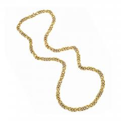 Bvlgari Bulgari Bulgari Diamond Accented Gold Chain - 1167355