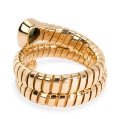 Bvlgari Bulgari Bulgari Serpenti Garnet Tubogas Ring in 18K Yellow Gold - 1287495