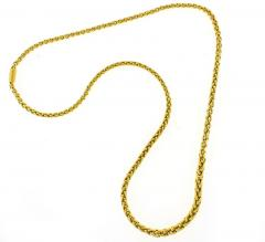 Bvlgari Bulgari Bulgari Wheat Link Necklace - 1094577