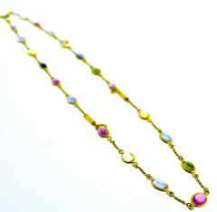 Bvlgari Bulgari Bulgari multi color sapphire bracelets and necklace - 1139486