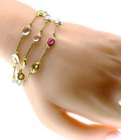 Bvlgari Bulgari Bulgari multi color sapphire bracelets and necklace - 1139487