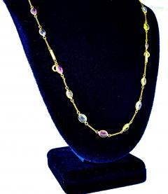 Bvlgari Bulgari Bulgari multi color sapphire bracelets and necklace - 1139492