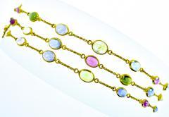 Bvlgari Bulgari Bulgari multi color sapphire bracelets and necklace - 1139500