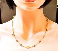 Bvlgari Bulgari Bulgari multi color sapphire bracelets and necklace - 1139514