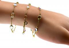 Bvlgari Bulgari Bulgari multi color sapphire bracelets and necklace - 1139515