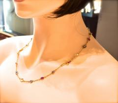 Bvlgari Bulgari Bulgari multi color sapphire bracelets and necklace - 1139519
