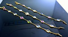 Bvlgari Bulgari Bulgari multi color sapphire bracelets and necklace - 1139525