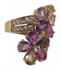 Bvlgari Bulgari Bulgari sapphire diamond ring - 1983005