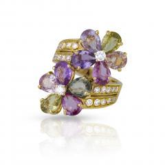 Bvlgari Bulgari Bulgari sapphire diamond ring - 1983006