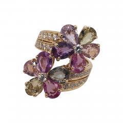 Bvlgari Bulgari Bulgari sapphire diamond ring - 1985891