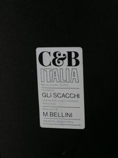 C B Italia Set of Seven Scacchi Units by Mario Bellini for C B Italia  - 1061482