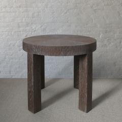 C J Peters Cerused Oak Side Table - 715065